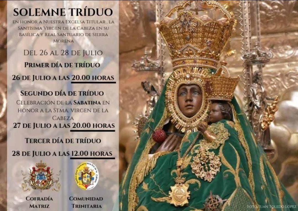 Triduo Virgen de la Cabeza