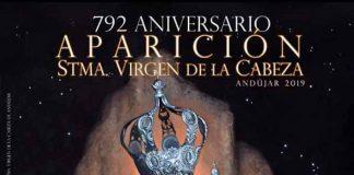 Cartel aparición Virgen de la Cabeza 2019