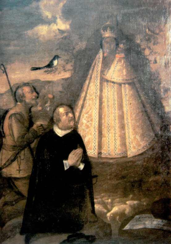 Cuadro Virgen de la Cabeza Saez de Tejada