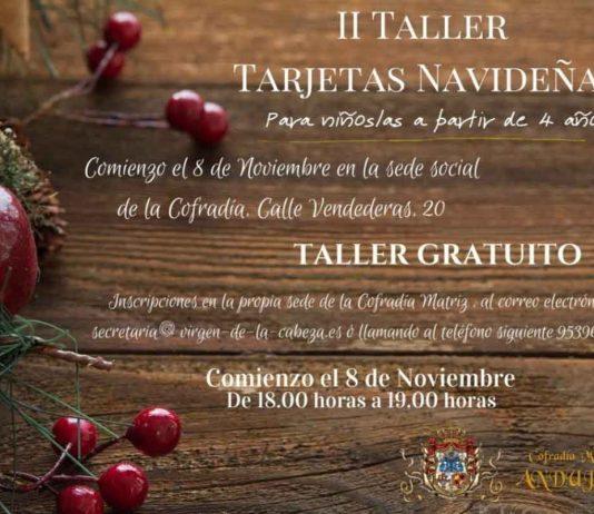 taller-tarjetas-navideñas-Virgen-de-la-Cabeza
