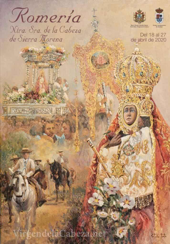 Cartel romería Virgen de la Cabeza 2020