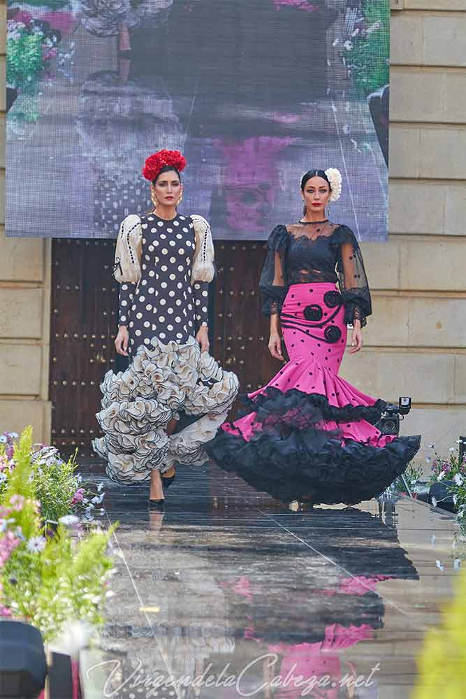 Traje flamenca bonito