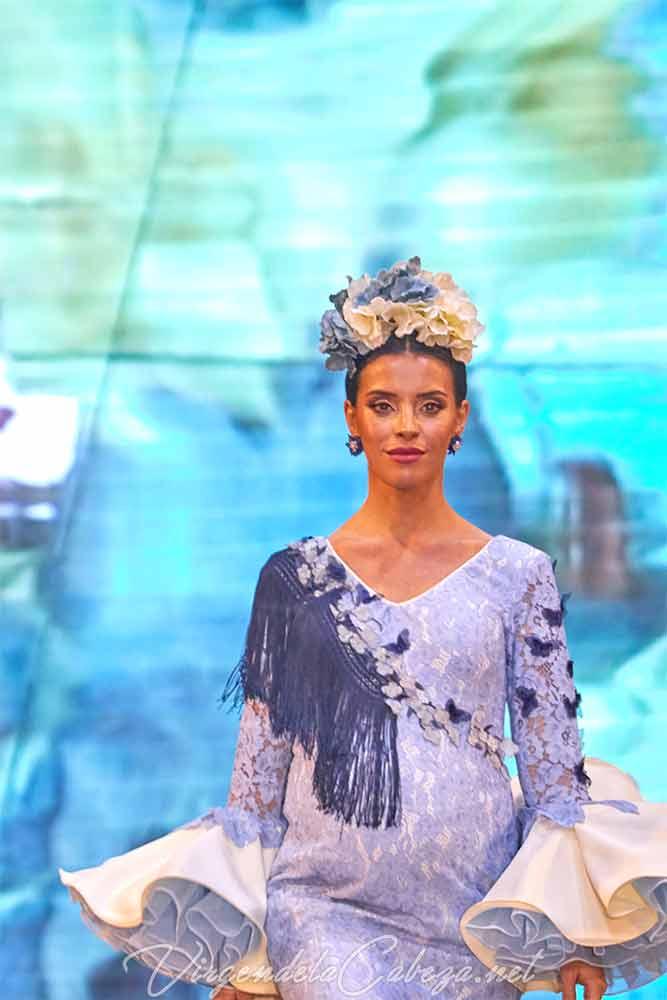Traje flamenca diseñadora Carmen Benitez