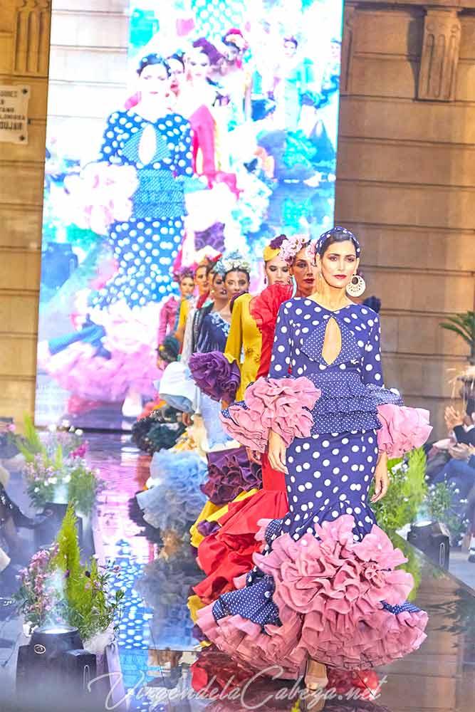 Trajes flamenca diseñadora Carmen Benitez
