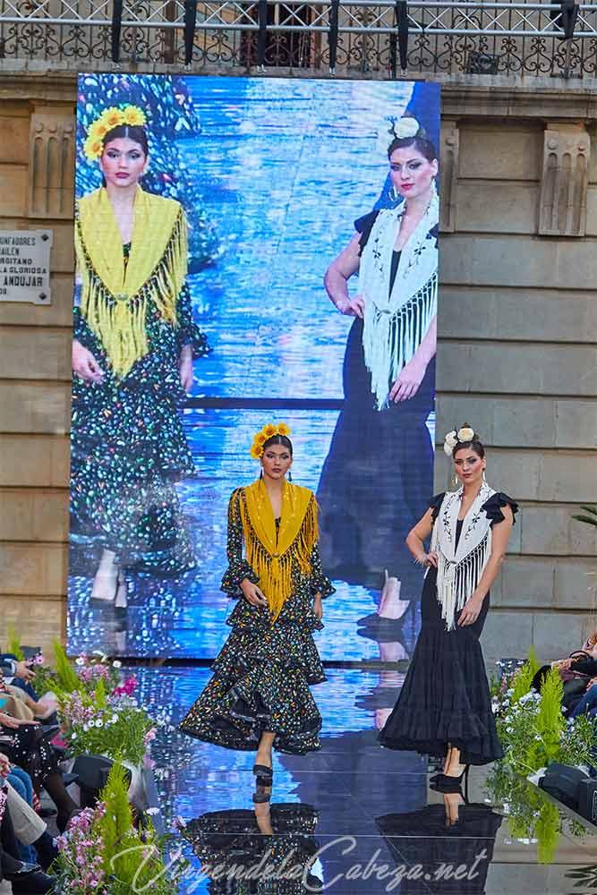 Traje flamenca diseñadora Micaela Villa