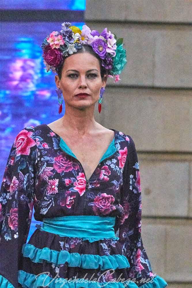 Traje flamenca diseño Atelier Rima
