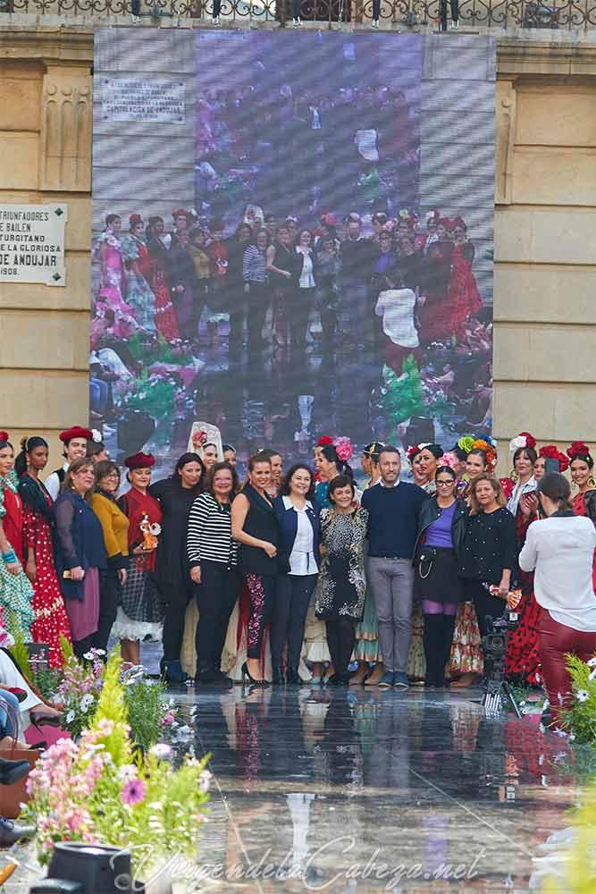 Historia traje flamenca por Mof Art