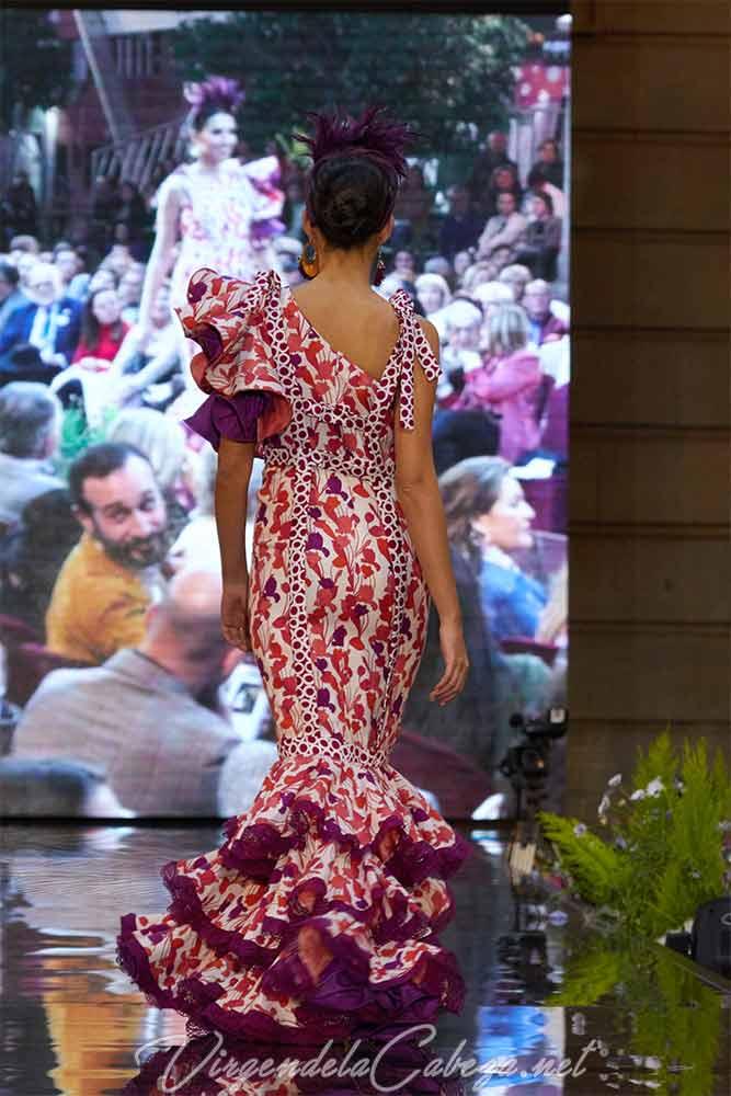 Traje flamenca Isabel Perea