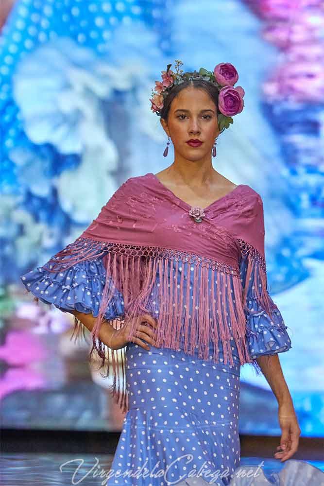traje flamenca Maricruz y Montecarlo