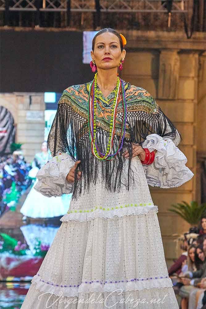 Traje flamenca Pilar Vera