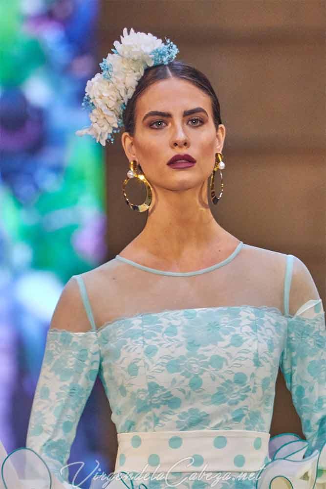 traje flamenca Sara de Benitez