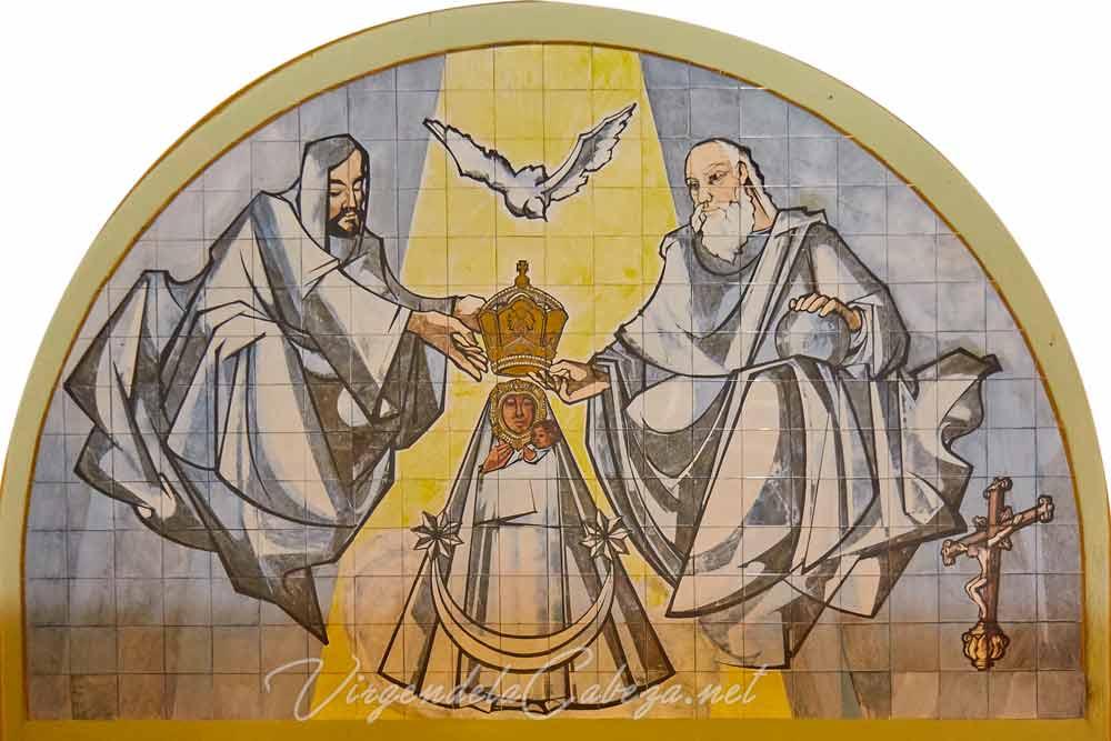 Ceramica Virgen de la Cabeza