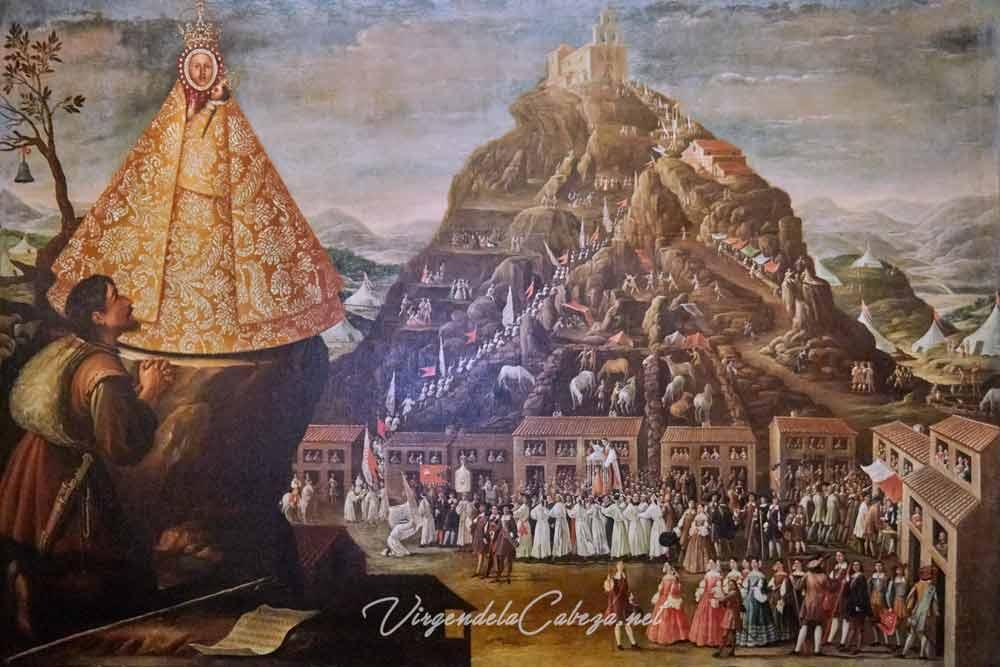 Cuadro romería Virgen de la Cabeza