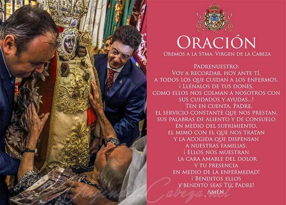 Oración Virgen de la Cabeza
