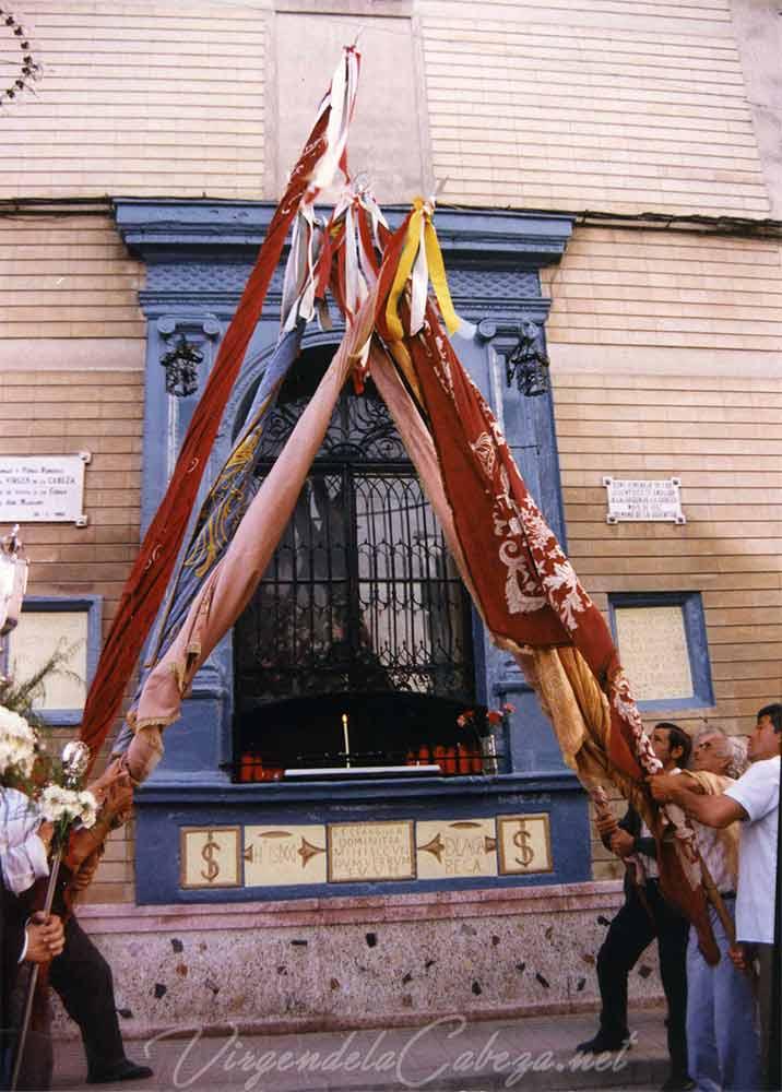 Cuadro la Virgen Andújar