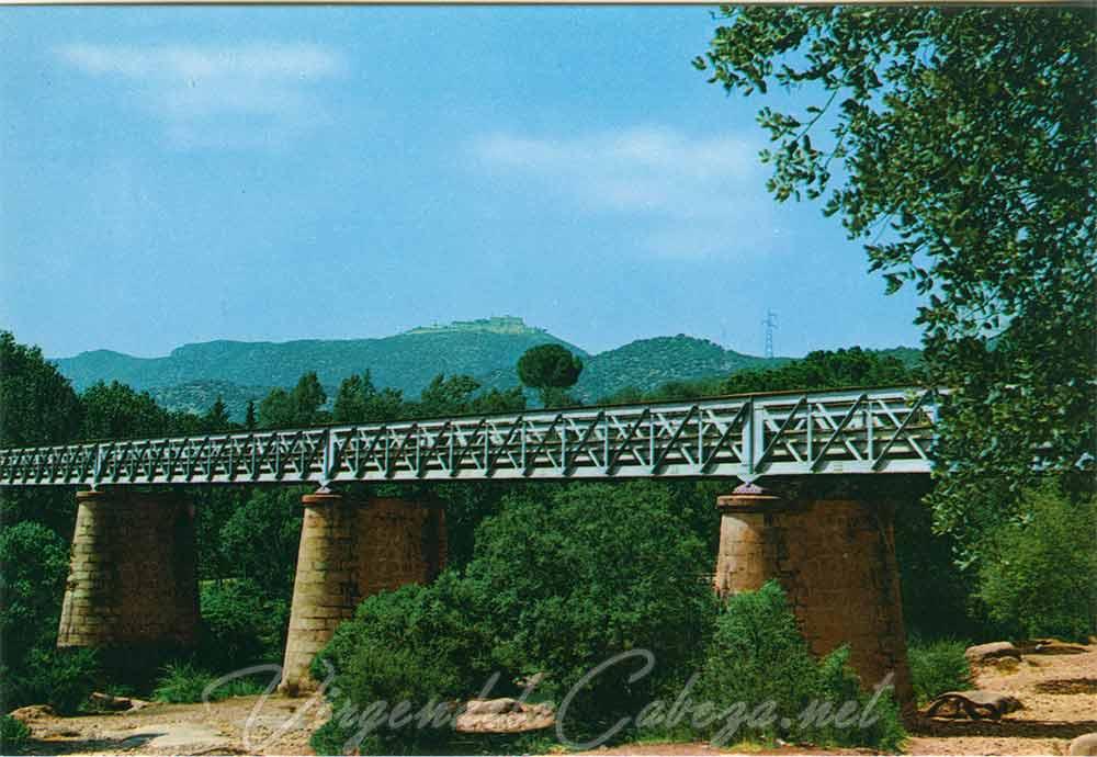 Puente de hierro carretera Virgen