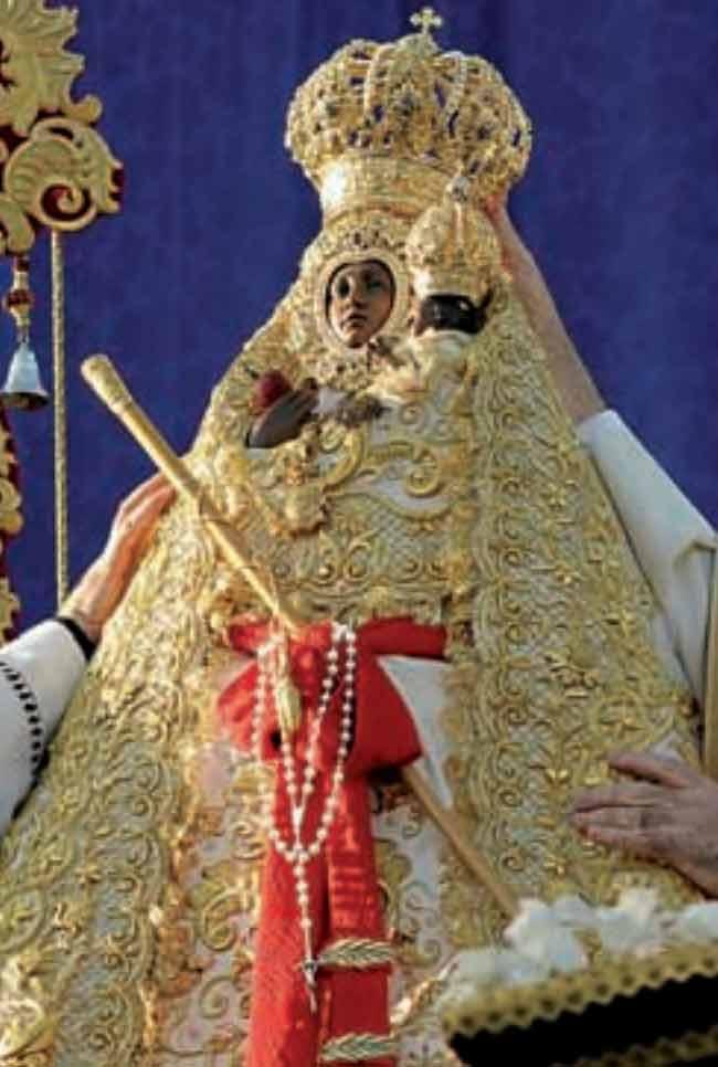 Rosario Benedicto XVI Virgen de la Cabeza