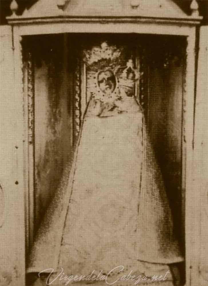 Virgen de la Cabeza antigua