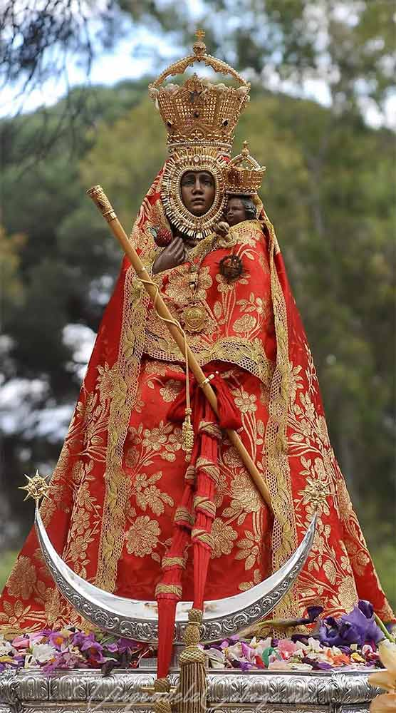 Virgen de la Cabeza-Foto Manuel Jose Gomez Martinez