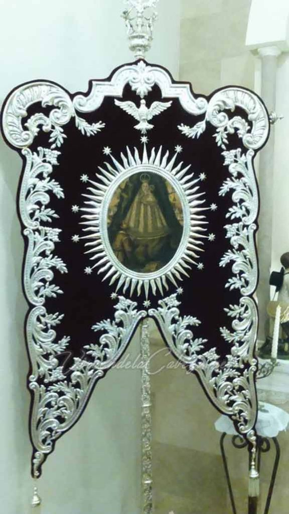 Estandarte Mengibar Virgen de la Cabeza