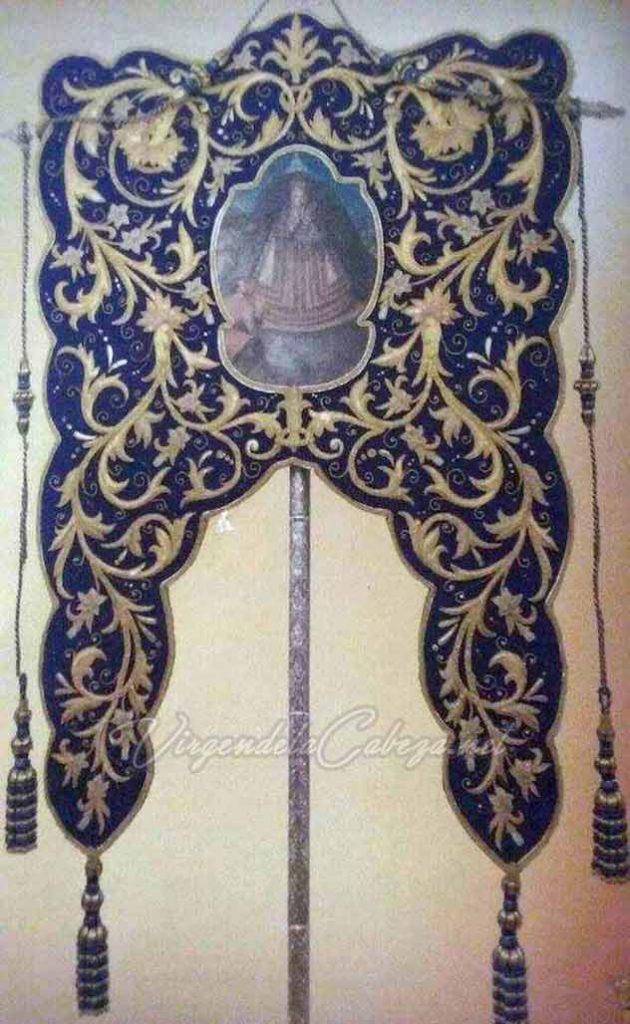 Estandarte Linares Virgen de la Cabeza