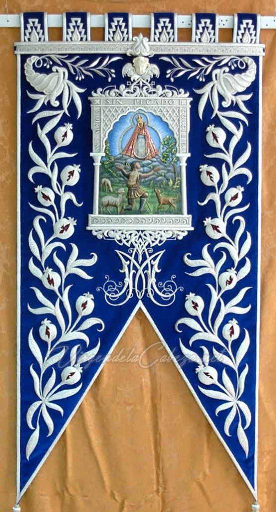 Estandarte Granada Virgen de la Cabeza