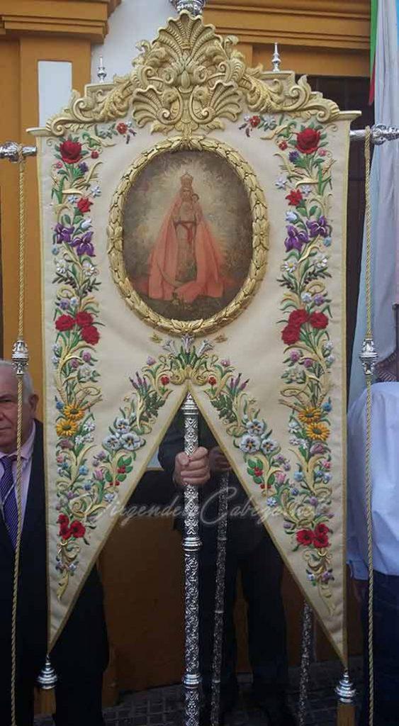Estandarte El Carpio Virgen de la Cabeza