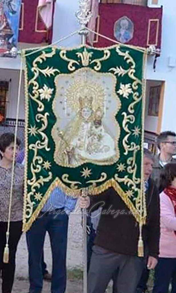 Estandarte Campillo de Arenas Virgen de la Cabeza