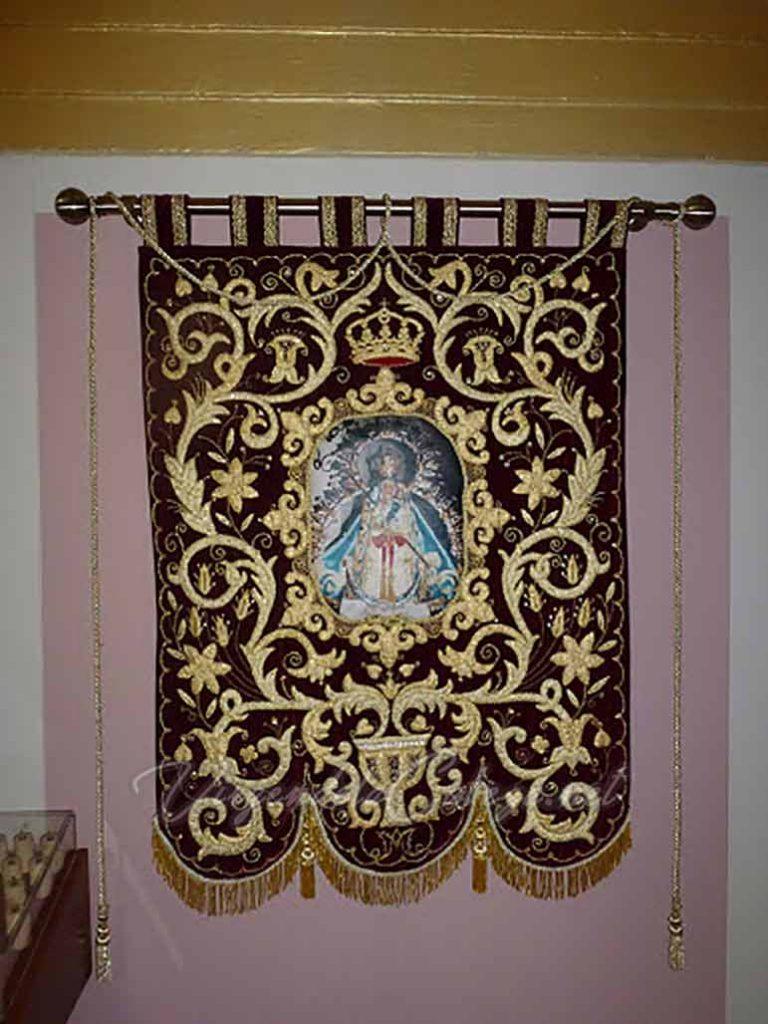 Estandarte Virgen de la Cabeza Hospitalet de Llobregat