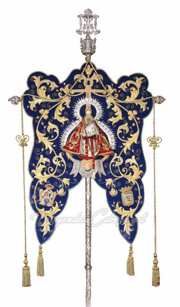 Estandarte Virgen de la Cabeza Huelva