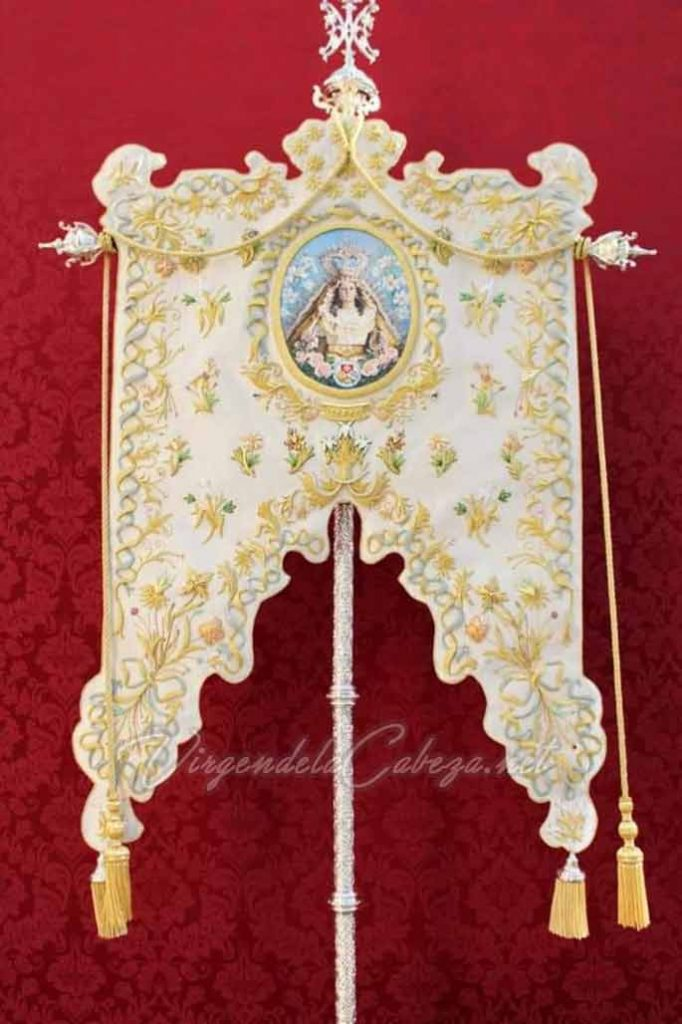 Estandarte Virgen de la Cabeza Baeza