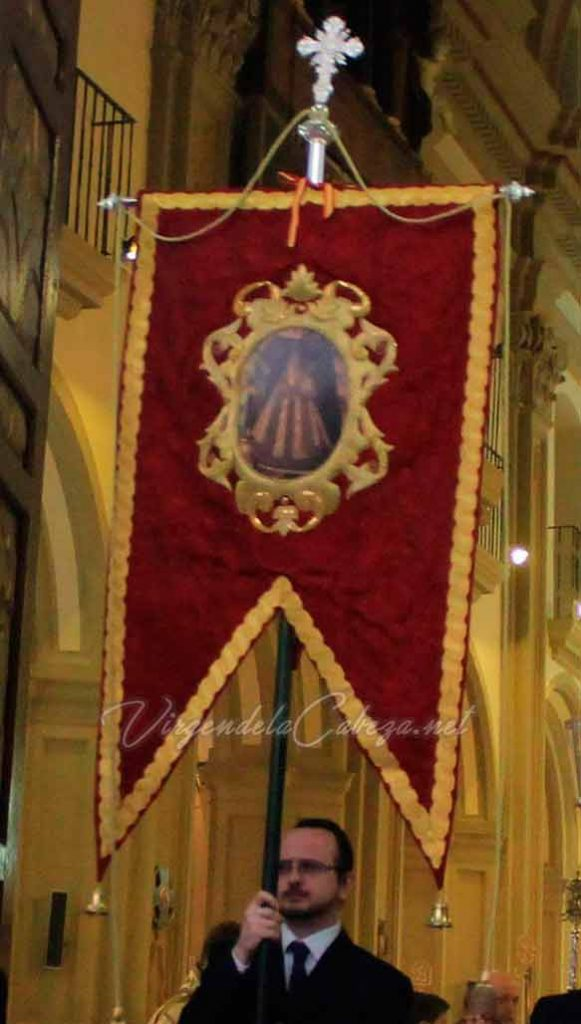Estandarte Virgen de la Cabeza Murcia