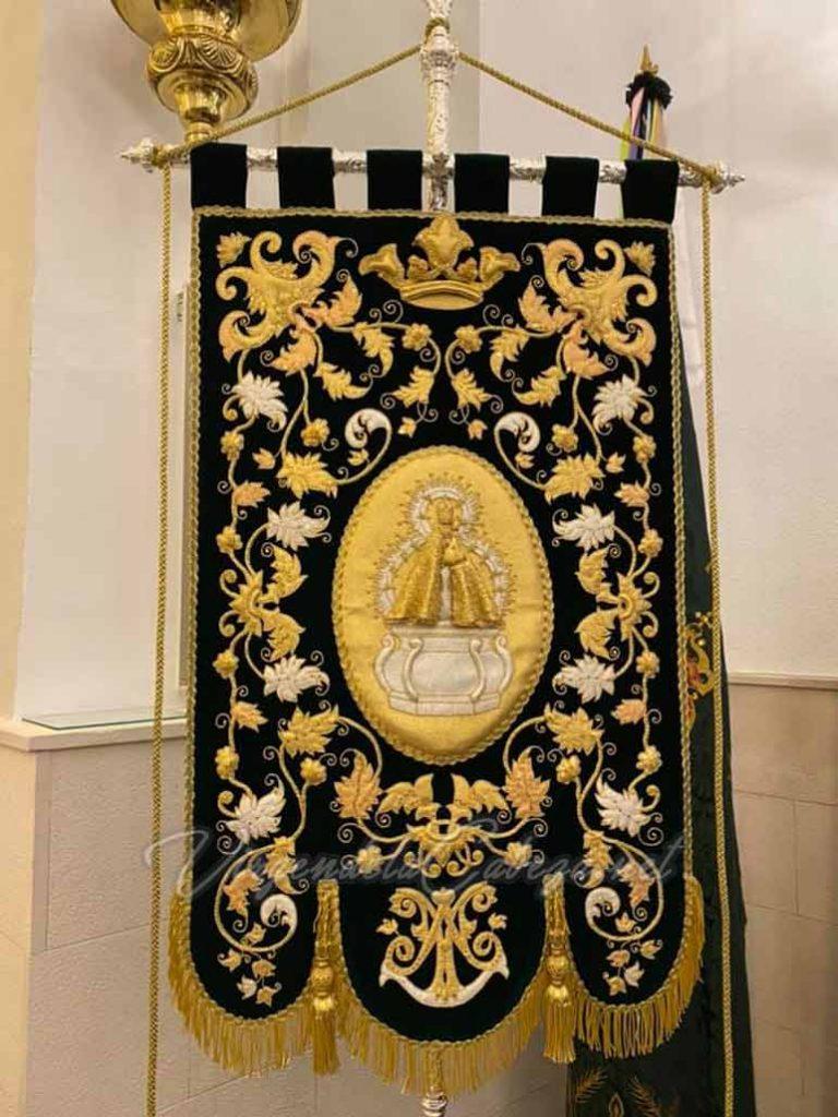 Estandarte Virgen de la Cabeza de Pegalajar