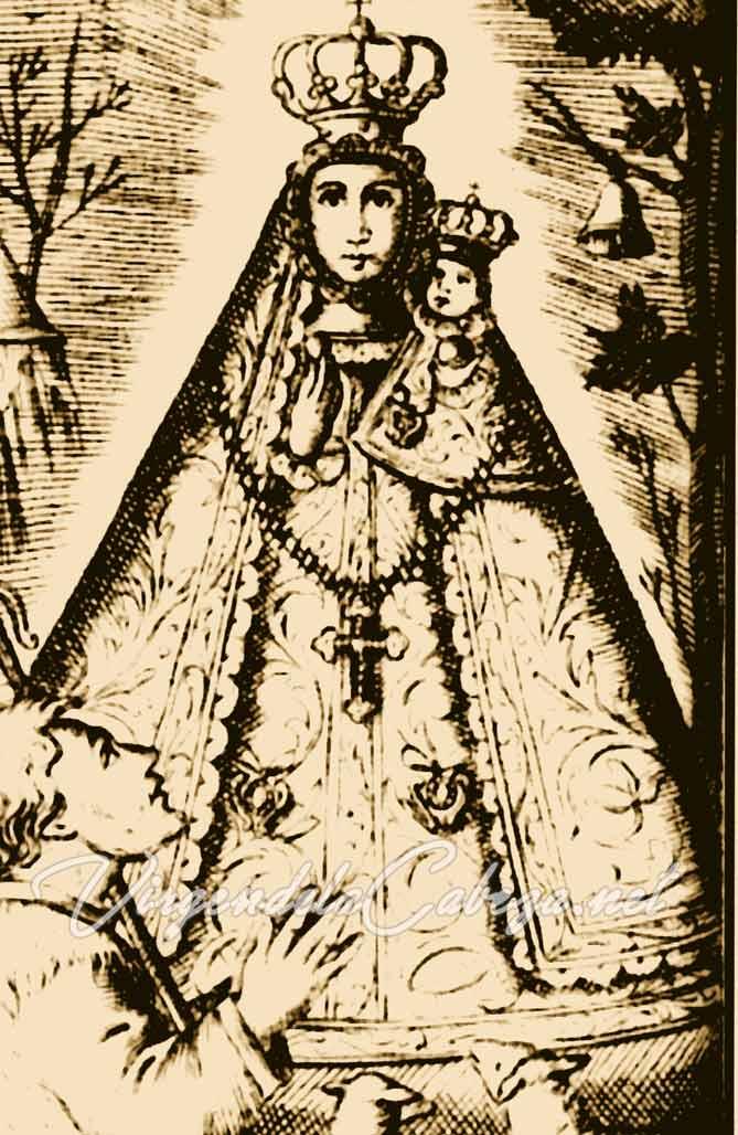 Iconografía Virgen de la Cabeza antigua
