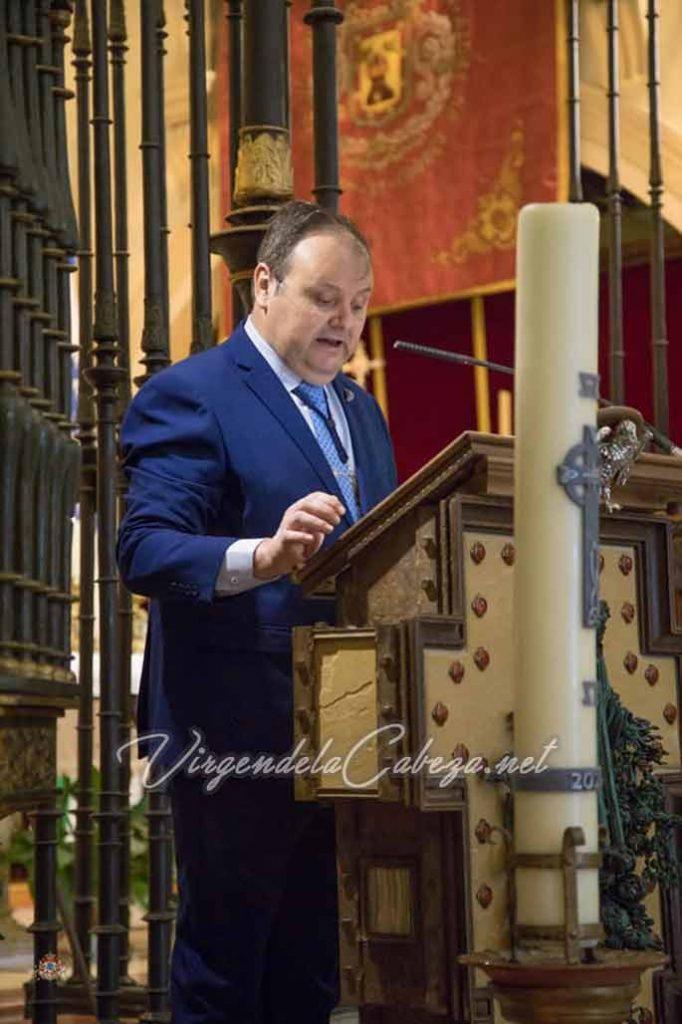 Hermano Mayor Virgen de la Cabeza 2021-2022 Antonio Barrios