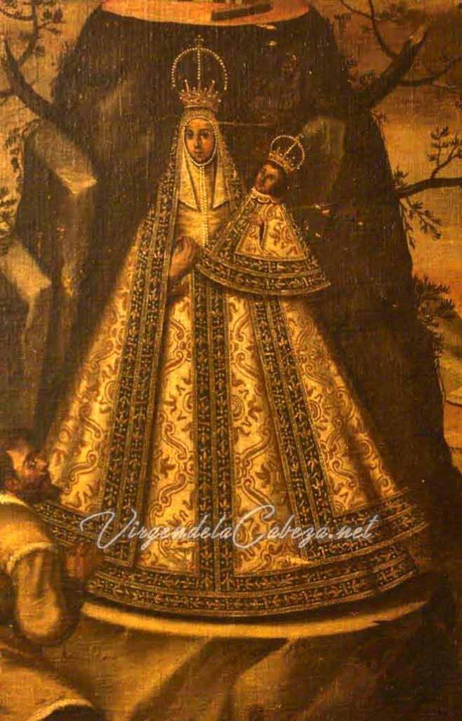 Iconografía Virgen de la Cabeza siglo XVII