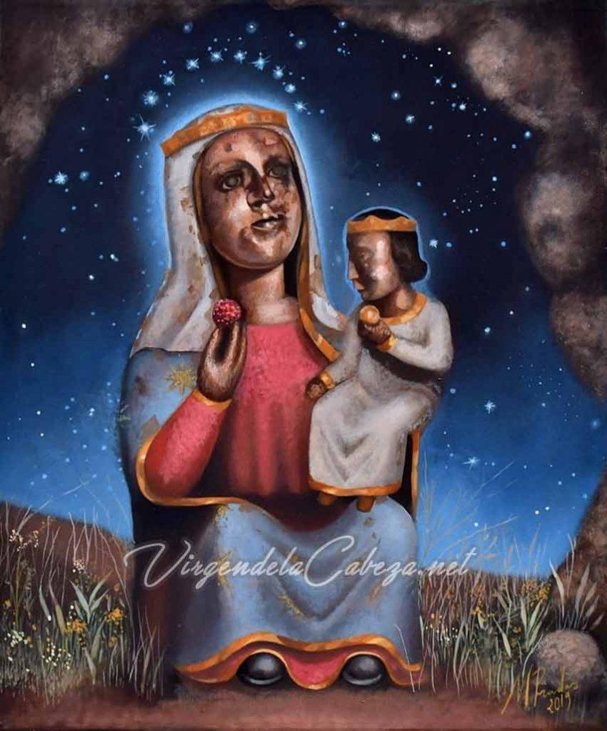 interpretacion-Virgen-de-la-Cabeza-antigua