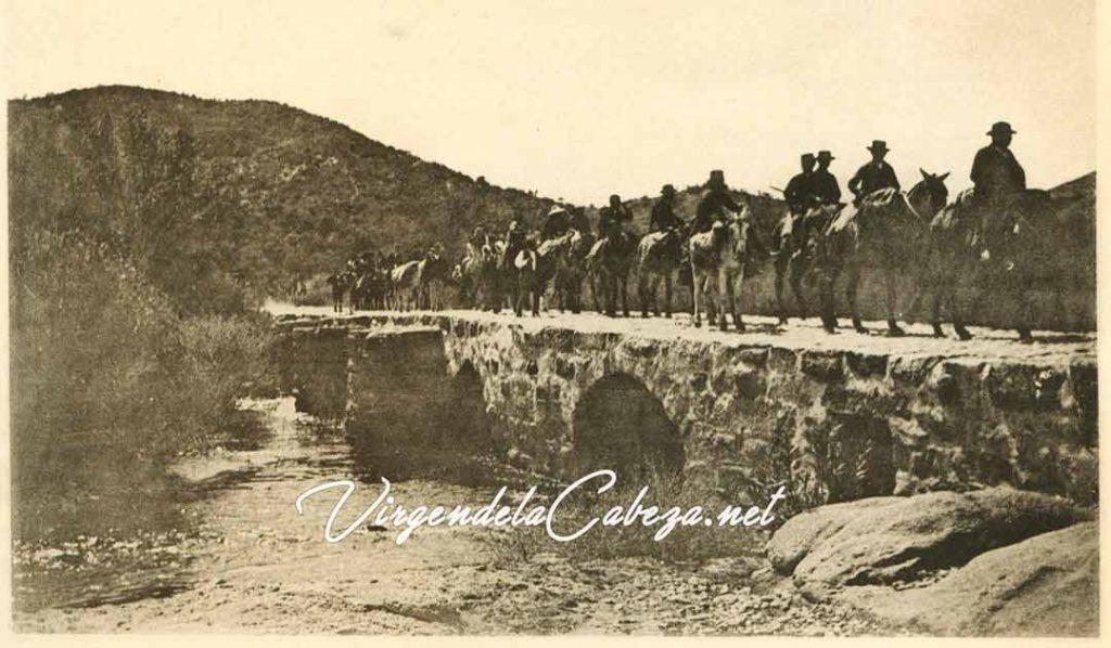Romería antigua 1890