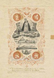Virgen de la Cabeza al pastor Juan Alonso de Rivas. Colección del Museo Nacional del Traje de Madrid