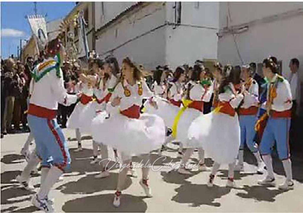 procesión Palomares del Campo Virgen de la Cabeza