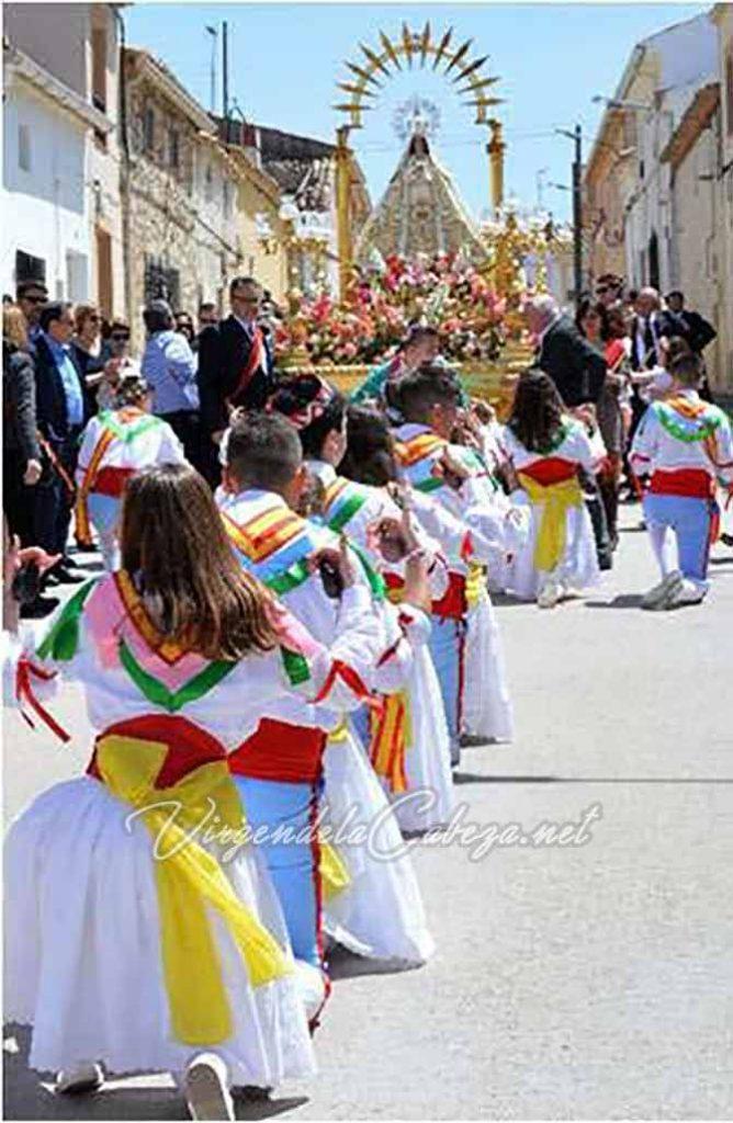 Romería Palomares del Campo Virgen de la Cabeza