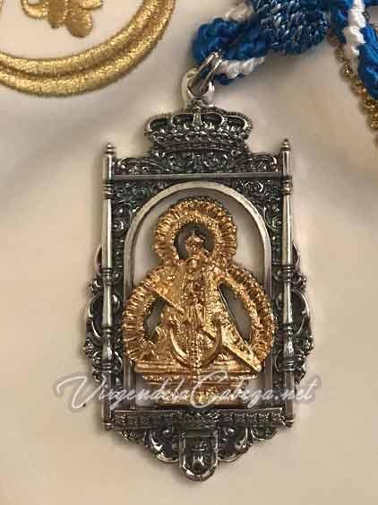 Medalla cofrade Virgen de la Cabeza Bujalance