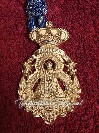 Medalla cofrade Virgen de la Cabeza Jamilena