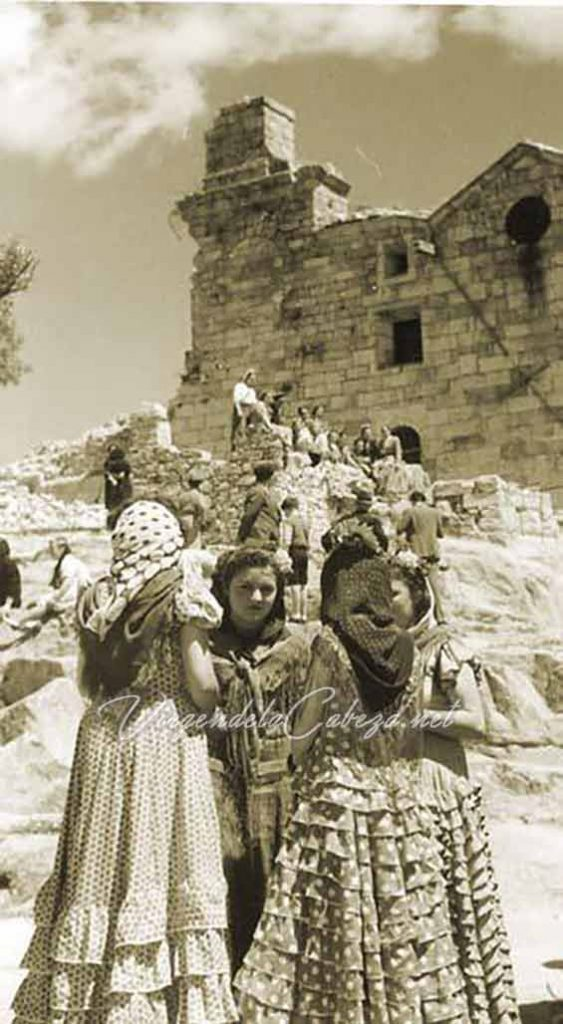 Romeria Virgen de la Cabeza despues Guerra Civil