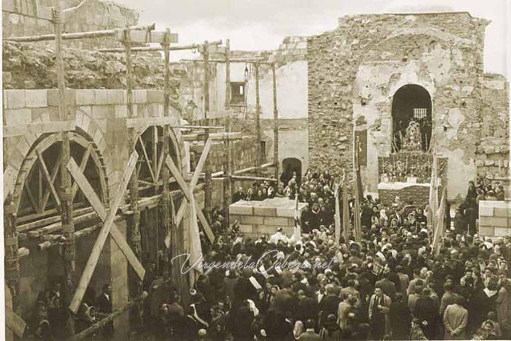 Misa romería después Guerra Civil