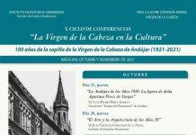 CONFERENCIAS ermita VIRGEN DE LA CABEZA-2021